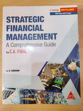 CA FINAL (NEW) - STRATEGIC FINANCIAL MANAGEMENT -GUIDE BY A.N. SRIDHAR