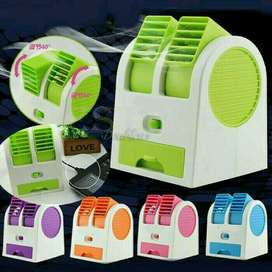 USB AC Duduk Mini Portable / USB Fan Kipas Double Windows