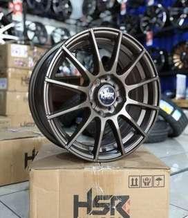 Velg R17 Velg Mobil TOLAMA UH002 HSR Pelek Racing KIA Picanto Baleno