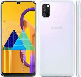 Samsung m30s 4gb/64gb white color 1 month old phone