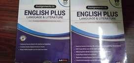 Class 10 english workbook