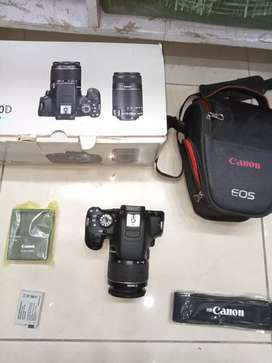 Canon 700d DSLR new 10/10 with complete box