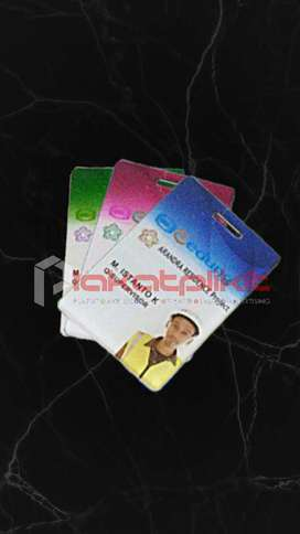Id card akrilik Custom ..