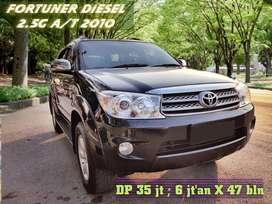 Fortuner 2.4 G Diesel matic irit bertenaga