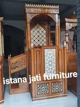 Tersedia Mimbar ceramah spesial hari raya idul Fitri