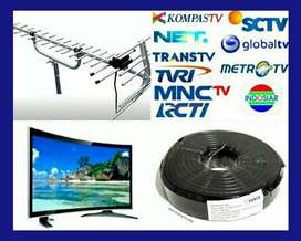 PASANG ANTENA TV LED