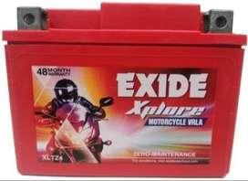 Exide Battery ETZ4