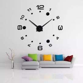 Giant clock angka titik besar