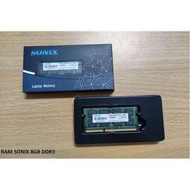 RAM SoDIMM SONIX DDR3 PC3L 12800 8GB, RAM Laptop DDR3 8GB