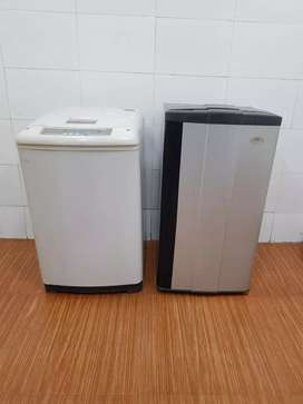 150 Litres Godrej single door ;Onida top load washing machine;shippinp
