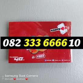 As cantik kartu perdana telkomsel simpati triple 333 kuartet 6666 # 10