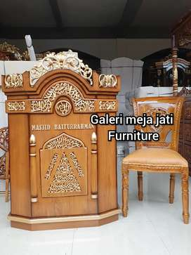 Mimbar masjid podium E312 talk