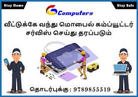 Mobile computer and laptop service low price