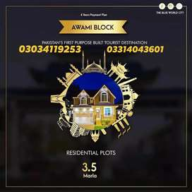 Blue World City Plots Files Available For Sale