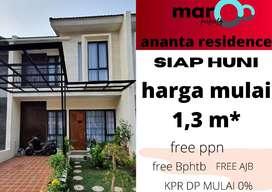 perumahan | ananta residence |rumah ready | siap huni | buana garden
