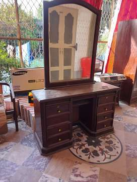 Dressing table solid wood in cheap price