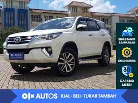 [OLX Autos] Toyota Fortuner 2.4 VRZ A/T 2019 Putih