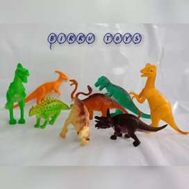 Mainan Binatang/ Hewan Dinosaurus (1 set)