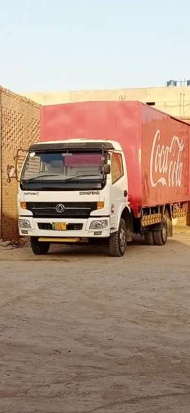 Dongfeng mazda truck 18 foot coke container