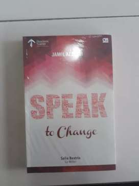 Jual cepat buku berjudul SPEAK to change