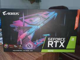 AORUS MASTER RTX 3070 - BRAND NEW FOR SALE