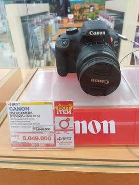 Hanya di best Denki Bunga 0% camera canon Eos3000D proses cepat