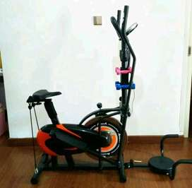 Sepeda Solo Fitness Center-Brand Fit Class Orbitrack Plat-Bergaransi