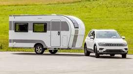 Towing Caravan - Camper van - Vanity Van- motor home - RV