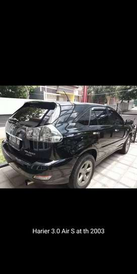 Harrier 3.0 Air S matic th 2003 low km