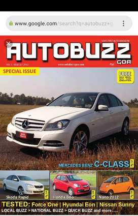 Want to buy AUTO BUZZ Goa magazine