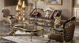 Luxury furniture kursi tamu mewah