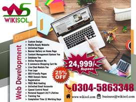 Website Design Development Services Web Hosting SEO Services