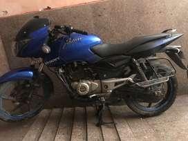 New condition Bajaj Pulsar 150, Blue colour 2014 model.