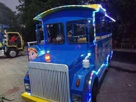 kereta mini wisata odong odong labirin bulat mesin kijang UK