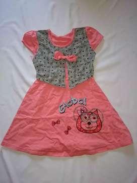 Dress anak perempuan lucu bagus murah