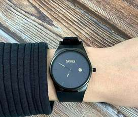 Jam tangan Casio casual original black
