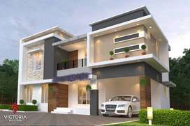 2000 sqft premium 3 BHK House for sale in palakkad town