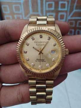 Jam tangan analog merk Rolens
