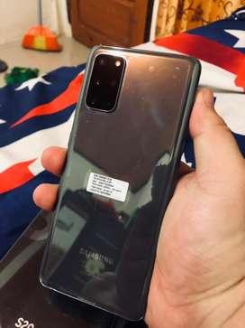 Samsung s20 plus gray resmi sein