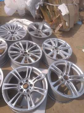 Genuine ALLOY WHEEL SINGLE OR2 PCS AVAIL OF ALL CARS BMW AUDI VW ETC