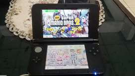 Nintendo 3ds XL blue 32gb full game. Bisa tt game psp