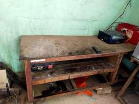 Wooden table( plywood + saghwan)