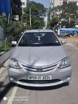 Toyota Etios Liva G, 2011, Petrol