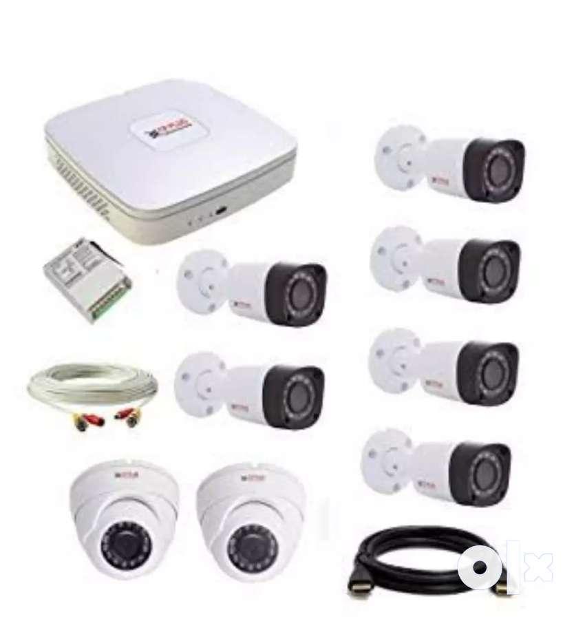 Cctv Cpplus cameras setup 0
