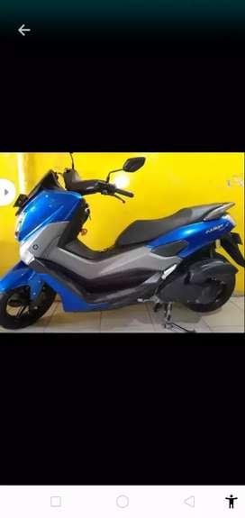 Yamaha Nmax 2018 blue.