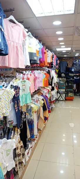 Runnig Garments shop