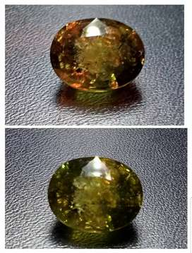 2 Certified Giant,NH 10.35 Ct Color Change Green-Padparadscha SAPPHIRE