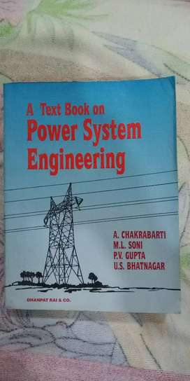 A text book on power system Engineering by Chakrabarty, Soni, Gupta