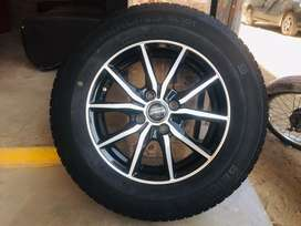 Spider Alloy Rims With Indonesia Tyres