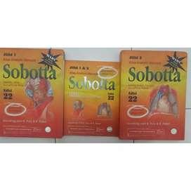 Buku kedokteran anatomi sobotta edisi 22 jilid 1 dan 2